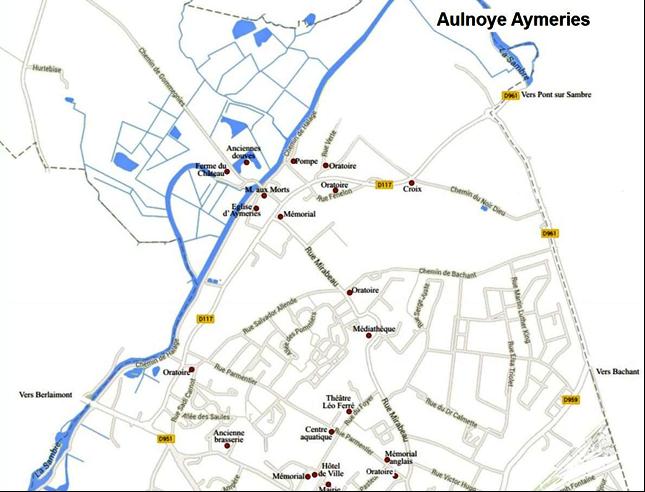 Plan d'Aulnoye-Aymeries