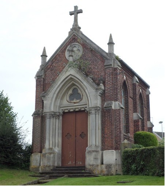 Chapelle néogothique XIX siècle rue de la Puissance