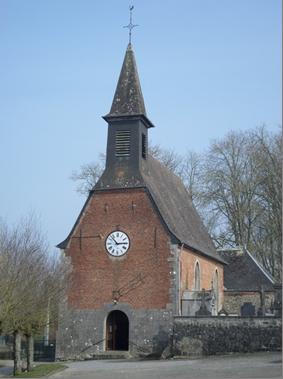 Chapelle Saint Christophe Accolée à l'Eglise à hauteur du Chœur