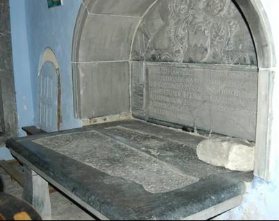 Intérieur de la chapelle seigneuriale St Christophe