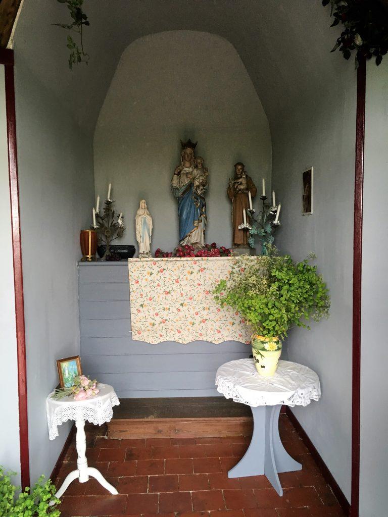 Intérieur de la chapelle