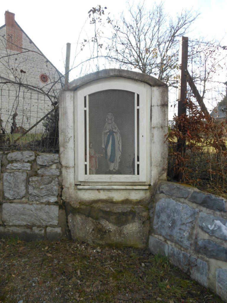 Oratoire dédié à la Vierge