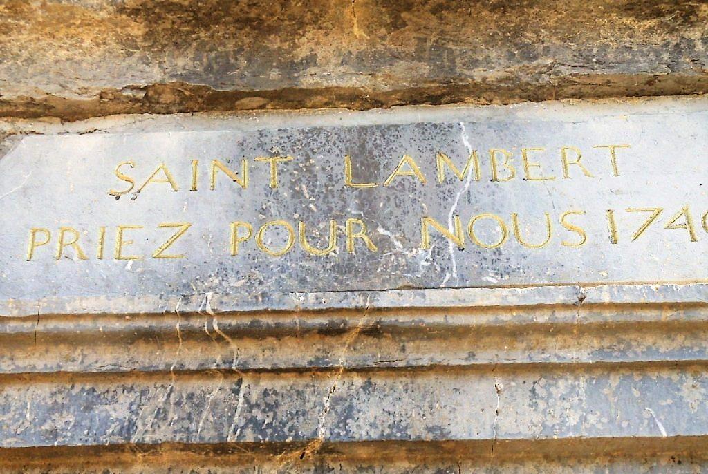 Saint Lambert priez Pour Nous 1740