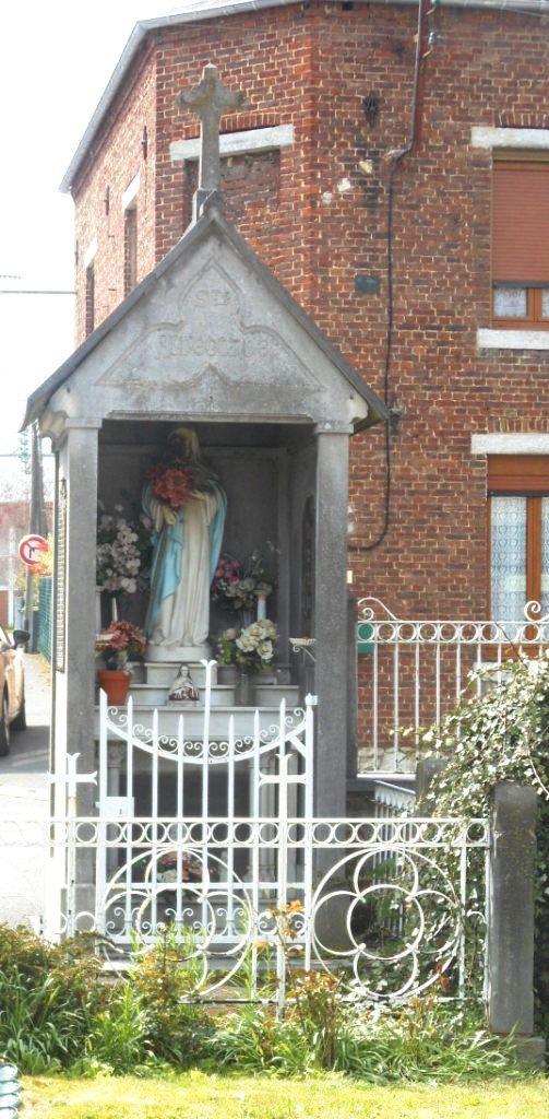 chapelle Ste Aldegonde fin XIXème siècle - rue Verte X rue Ste Aldegonde