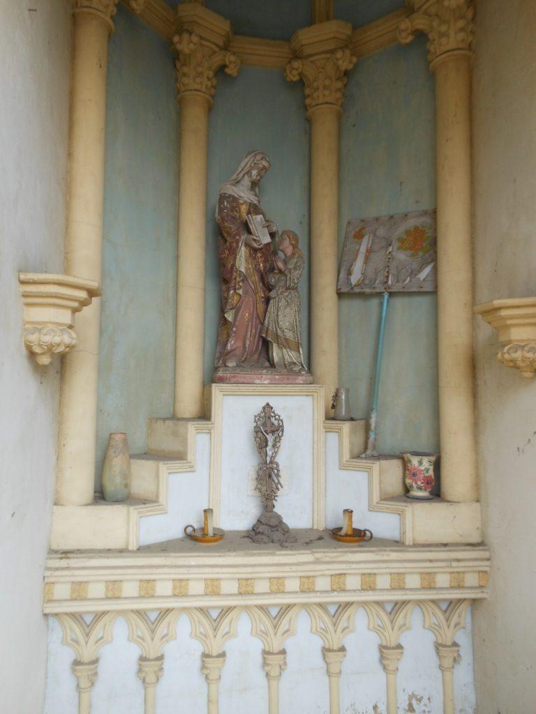 Intérieur de la chapelle Ste Anne