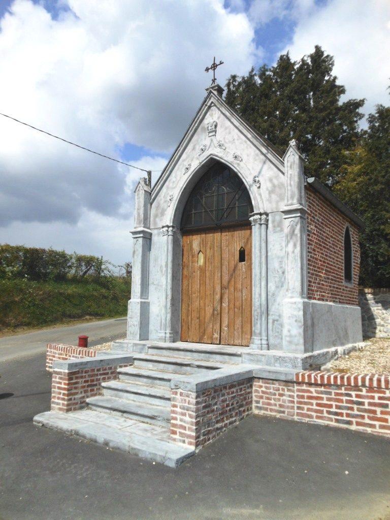 chapelle St Roch 1862 rue St Roch X Plaine du__ Monceau