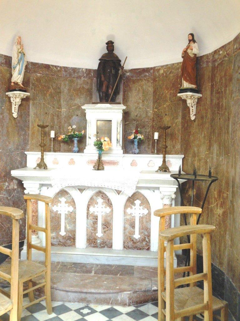 Autel de la chapelle St Roch
