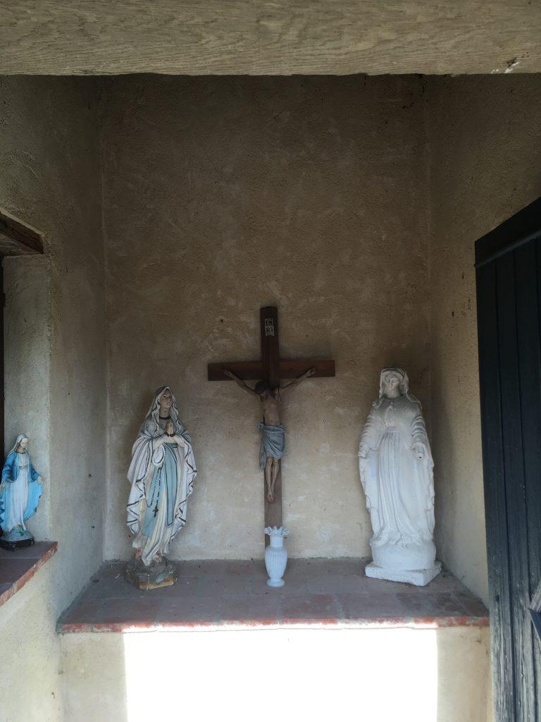 Intérieur de la chapelle Mathieu