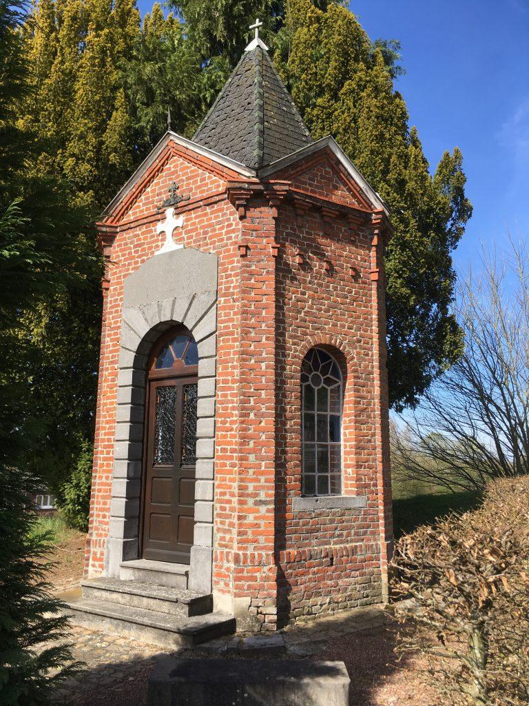 Chapelle N.D de Lourdes vue sous un autre angle