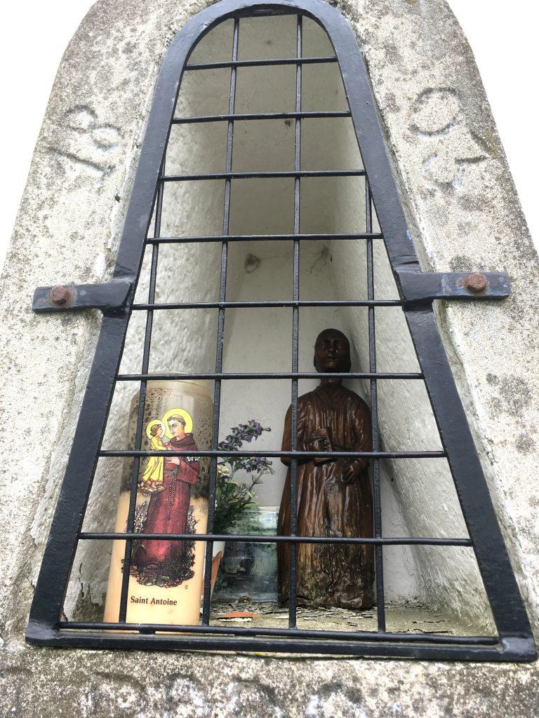 Niche de l'oratoire St Antoine