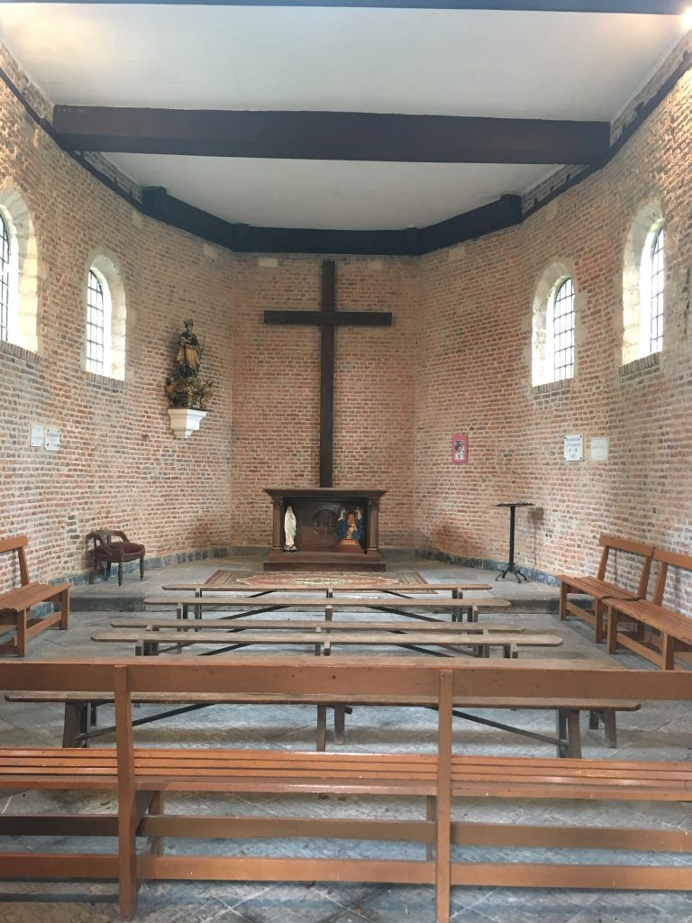 Intérieur de la chapelle Sainte Geneviève