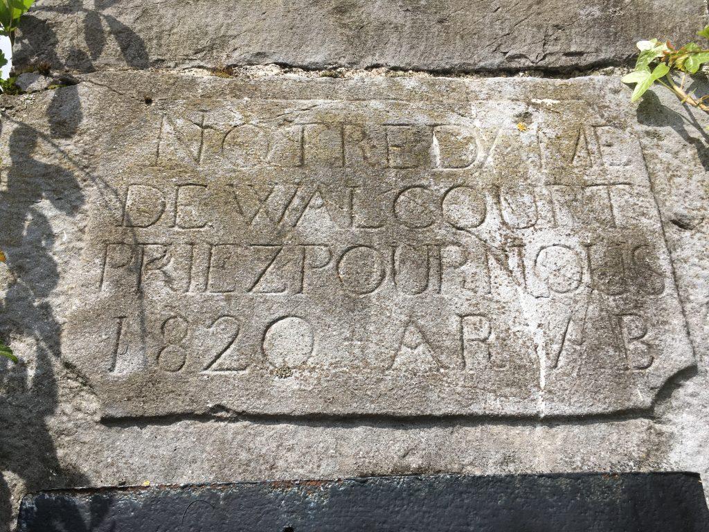 Notre Dame de Walcourt Priez Pour Nous 1820 AR AB