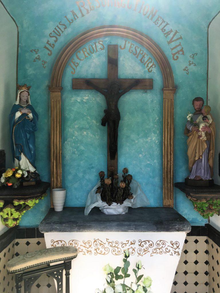 Intérieur de la chapelle St Joseph