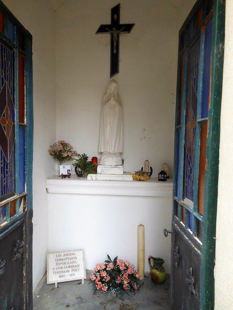 Intérieur de la chapelle de l'Hurtebise