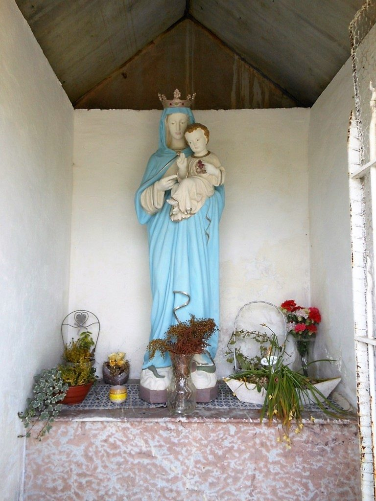 Intérieur de la chapelle N.D du Sacré coeur