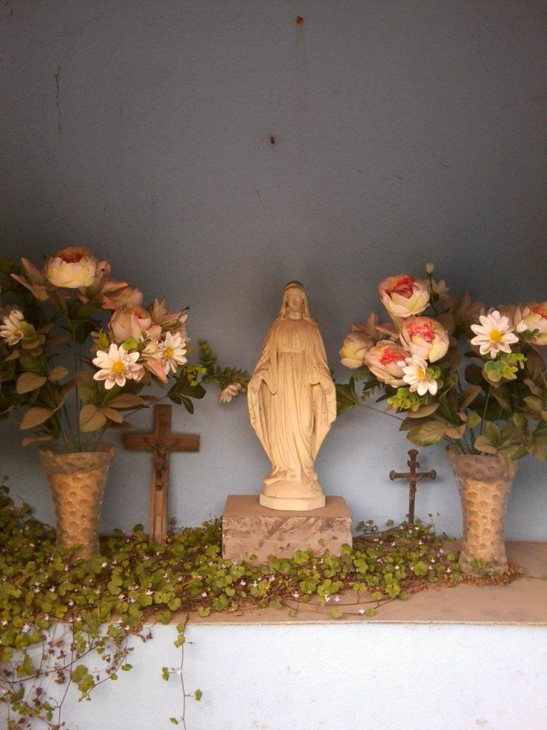Intérieur chapelle N.D de Bon secours