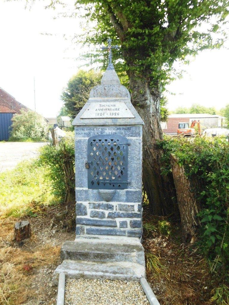 oratoire dédié à ND de Bon Secours 1826 - chemin du Trieu Audin