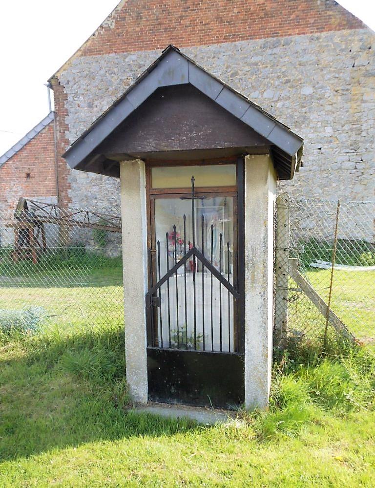 chapelle ND de Calme au hameau de Comagne lieu-dit La Ville de Gand