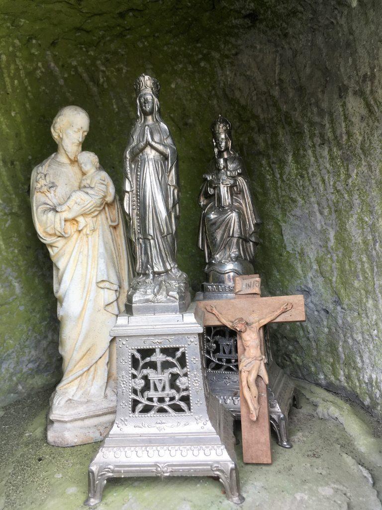 Niche de l'oratoire des 4 saints Couronnés