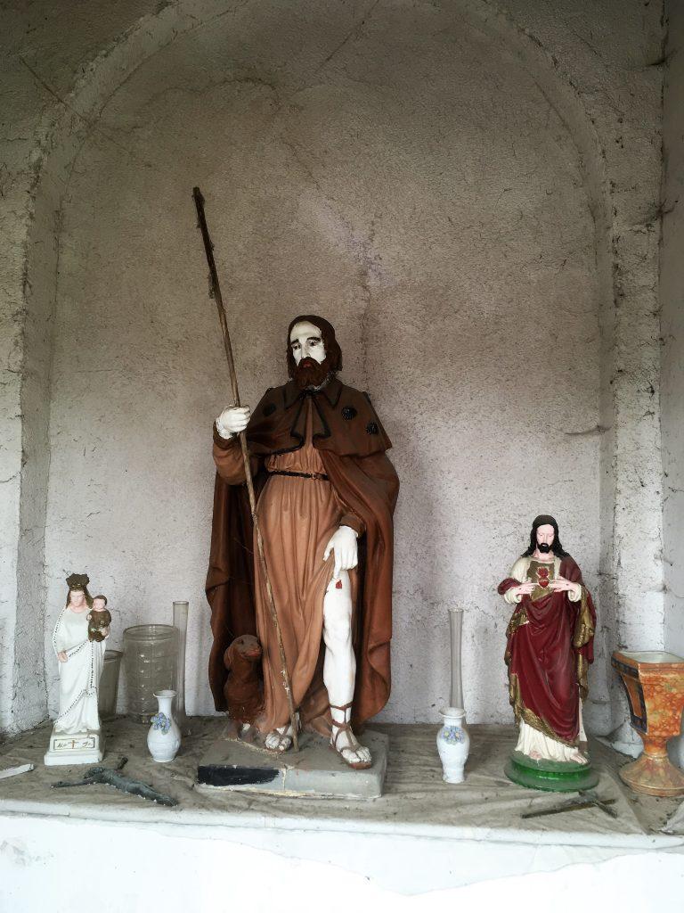 Intérieur de la chapelle St Roch