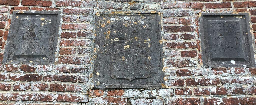 NOE MOVSRONHAS DICVLAS EXEQVEBATVR. 1681. DVM PETRV LEBRVN VIGEBAT CVRATVS.