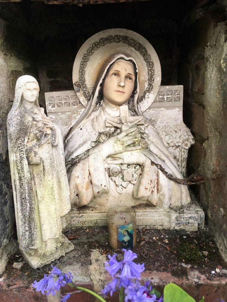 Niche de l'oratoire St Jean