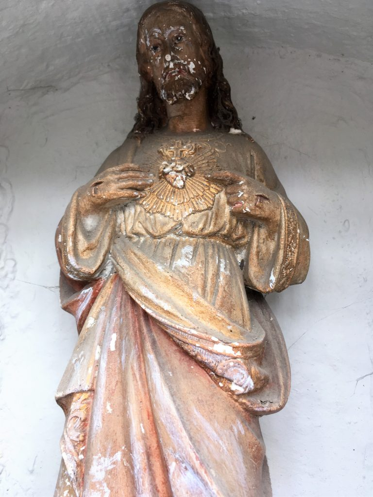 Niche de l'oratoire St Roch et St Ecuélin
