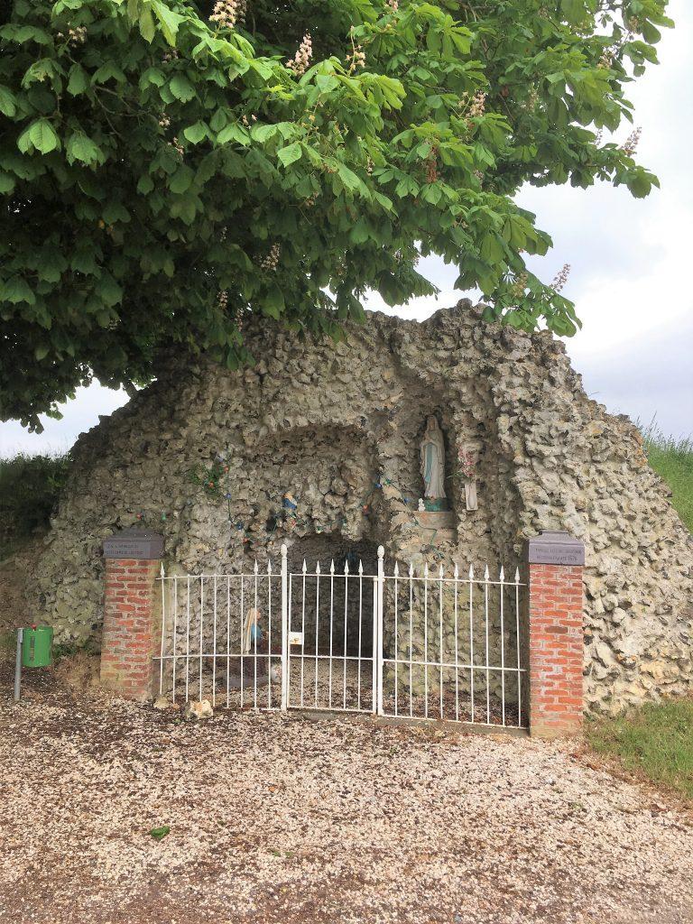 Grotte Notre Dame de Lourdes à la ferme de Gay.