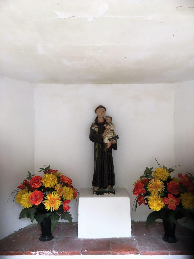 Intérieur de la chapelle St Antoine