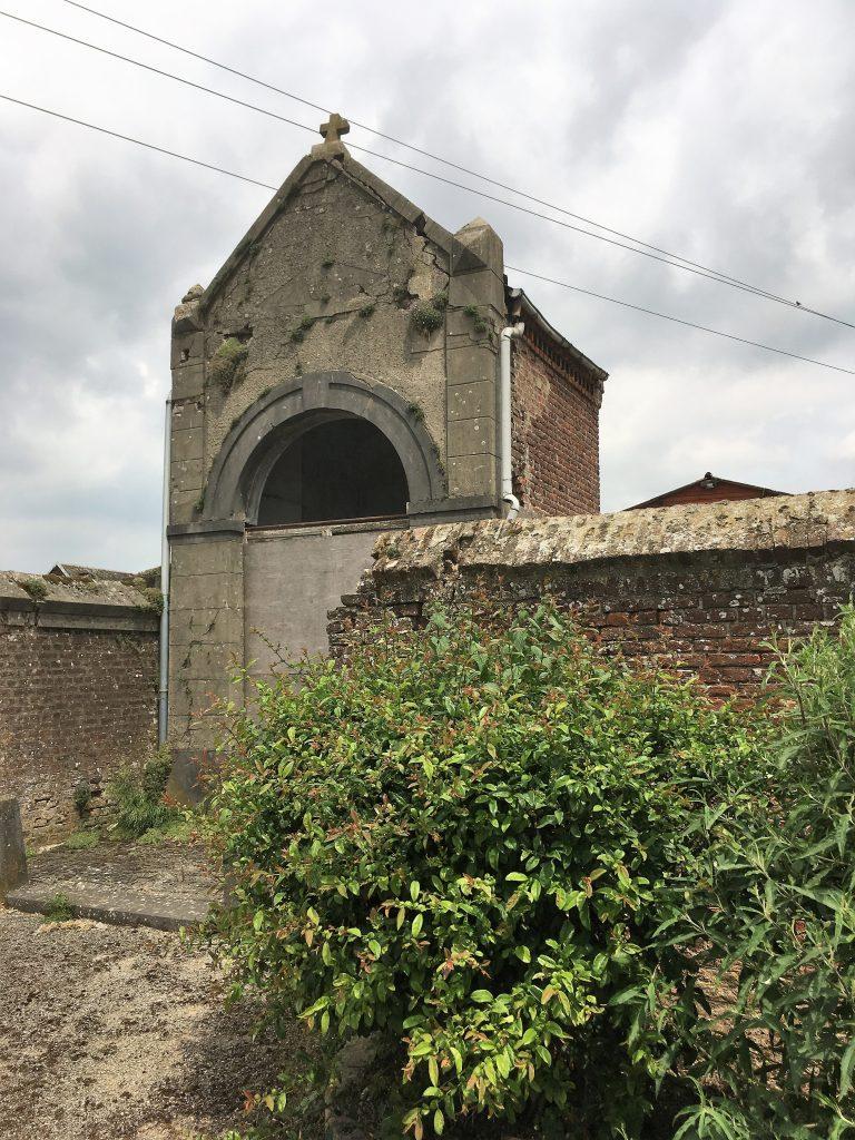 Chapelle désaffectée appelée chapelle du chemin de Landrecies