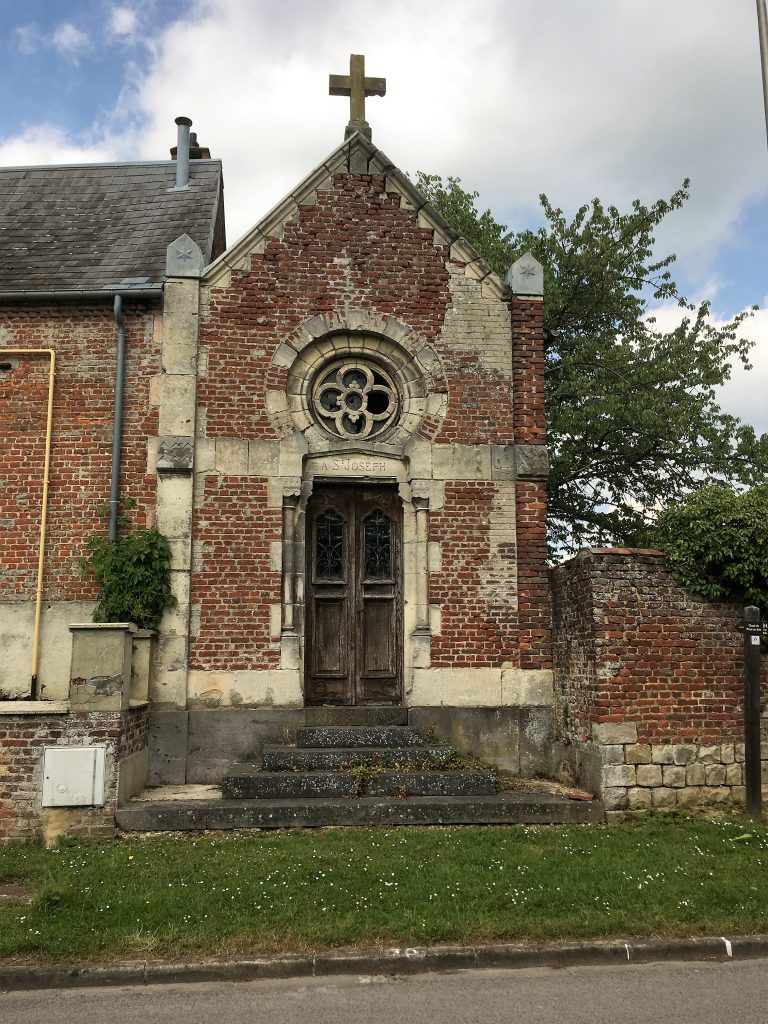 Chapelle St Joseph. Rue du Bois