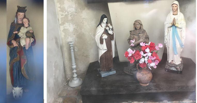 Intérieur chapelle N.D de Grâce