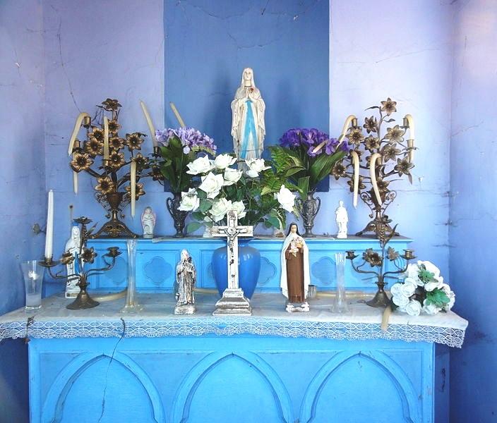 Intérieur de la chapelle Marie