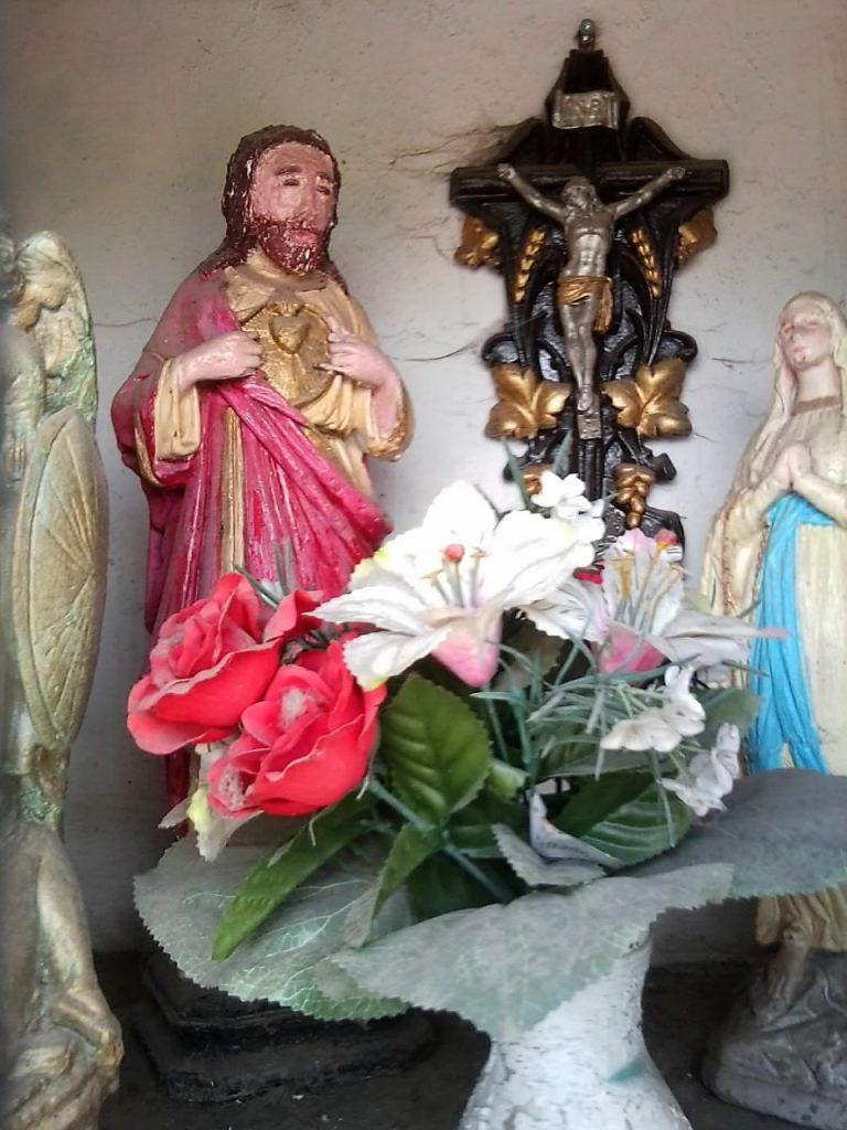 Intérieur oratoire St hubert st benoit et St Roch