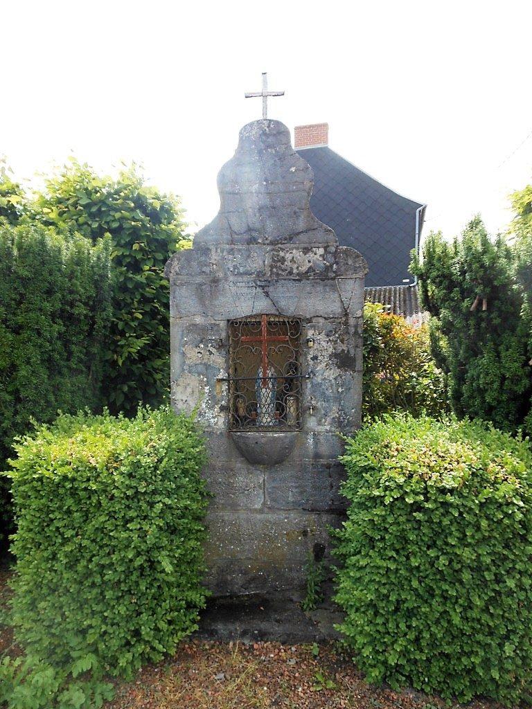 Oratoire N.D de Walcourt (1817). Route d'Avesnes / Rue d'Audignies