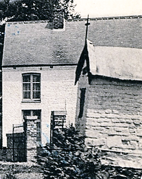 Chapelle disparue. Rue du Tréchon