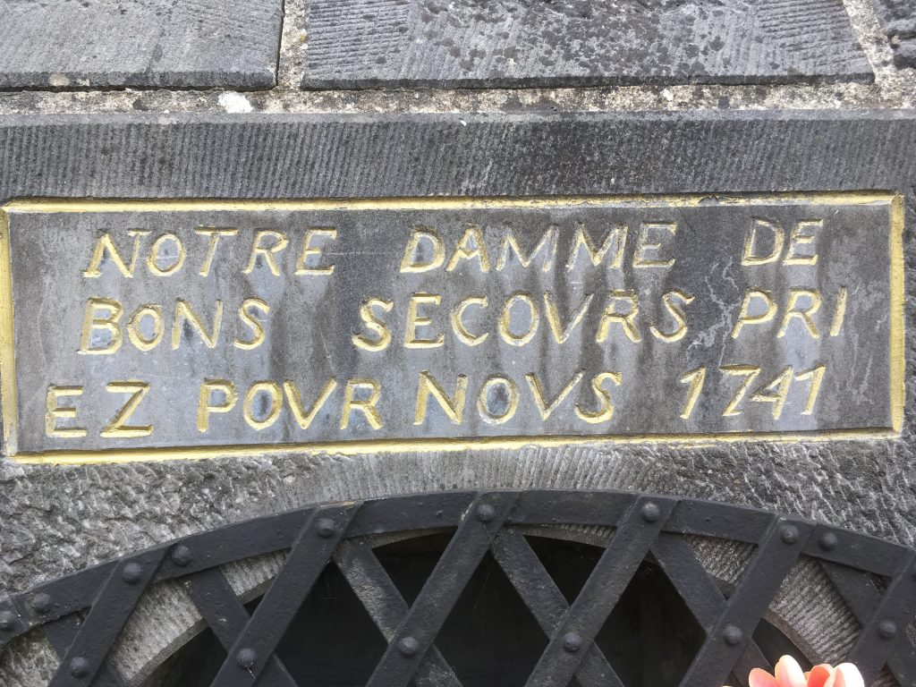 Notre Dame de Bon Secours Priez pour Nous 1741