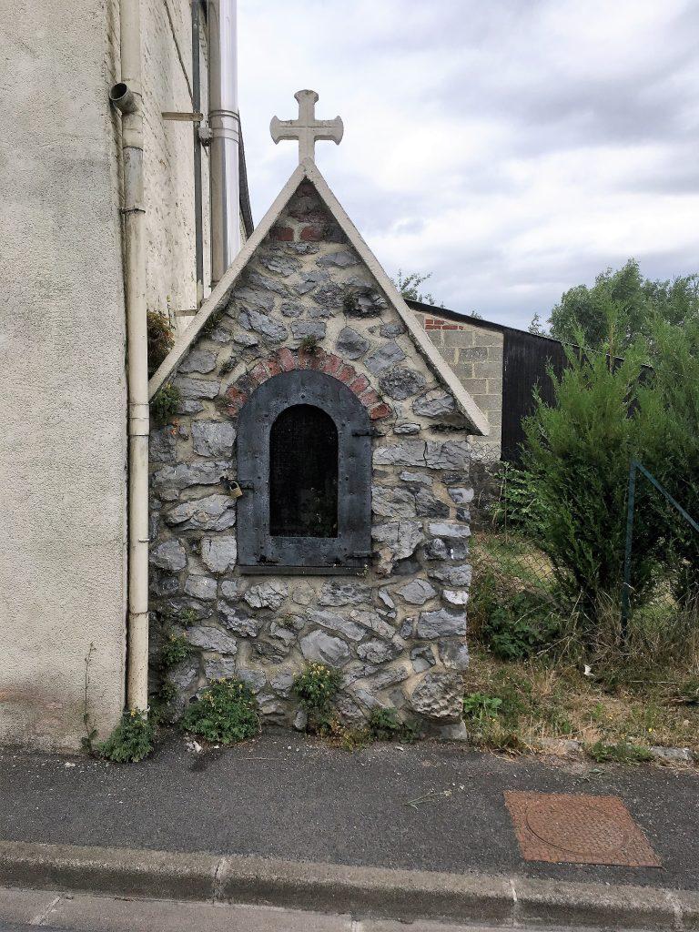 Oratoire St Antoine de Padoue. Rue de la Cavée