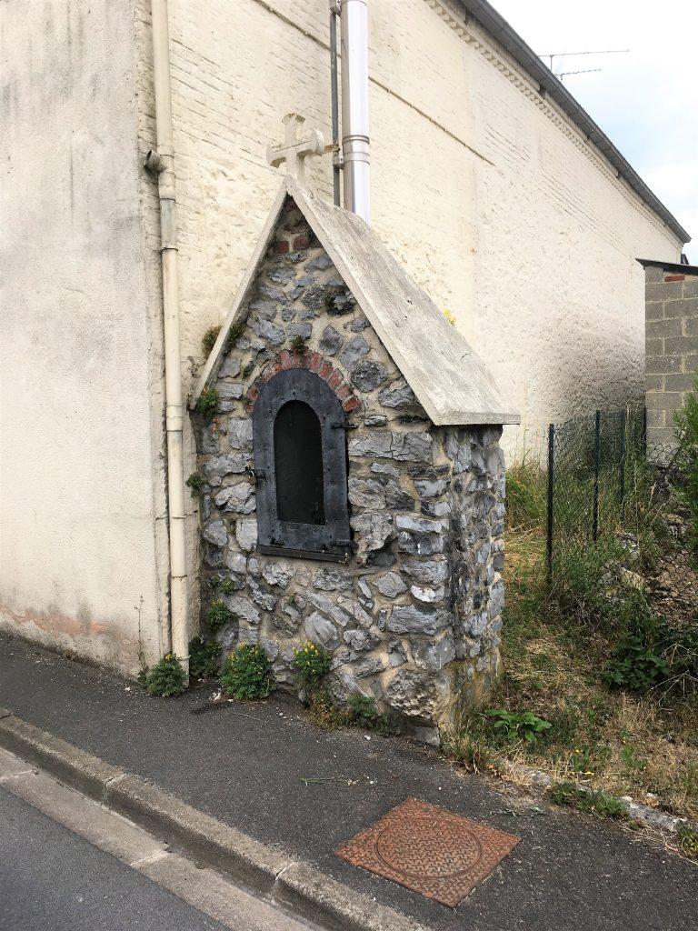 Oratoire St Antoine de Padoue. Rue de la Cavée.