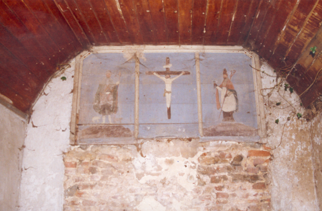 Intérieur de la chapelle N.D de Bon Secours