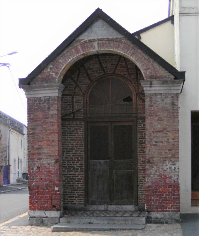 Chapelle St Roch. Rue Fernand Thomas