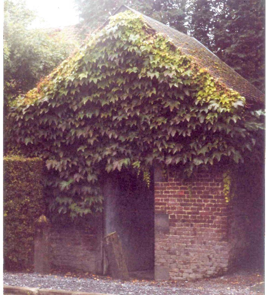 Chapelle de la Vierge Marie dans les années 1970.