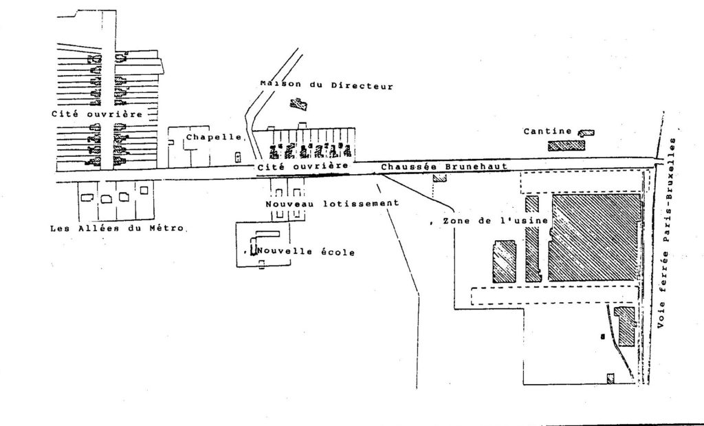 Ancien plan du hameau des Lagnières