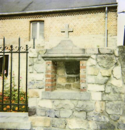 Oratoire N.D du Rosaire. Rue de la Gare