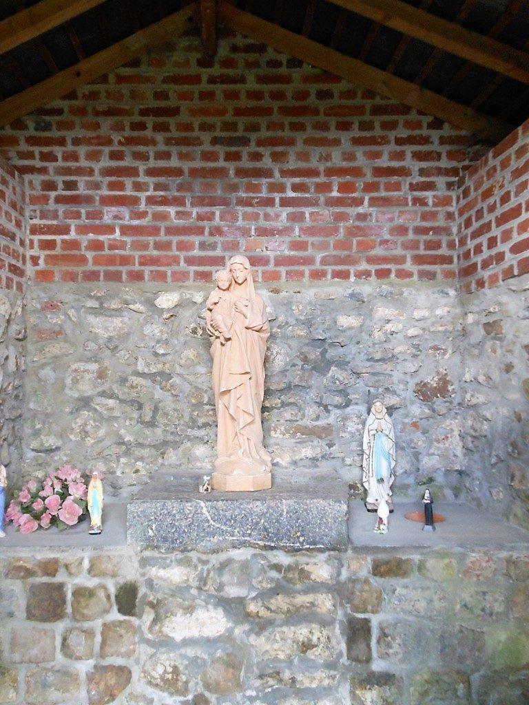 Intérieur de la chapelle de la Paix.