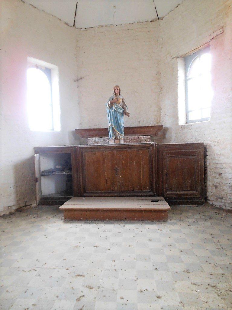 Intérieur de la chapelle N.D de Miséricorde
