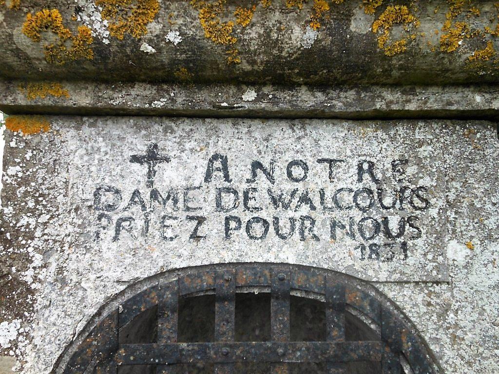 A Notre Dame de Walcours Priez Pour Nous 1831
