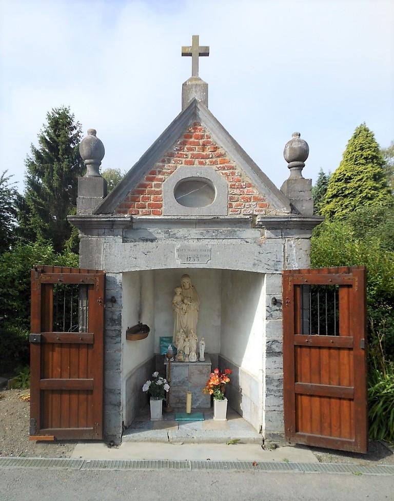 Chapelle du Pissotiau ou Chapelle de la Sainte Famille (1753) Rue de la Marne X Chemin de la Tête