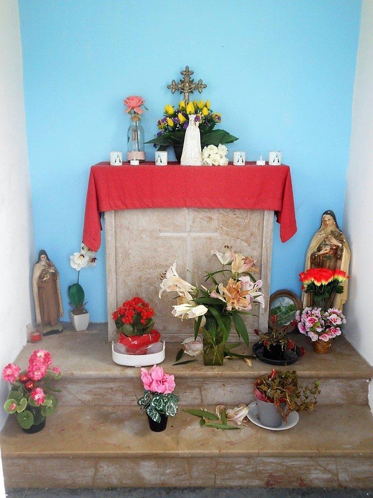 Intérieur de la chapelle N.D de Bonsecours