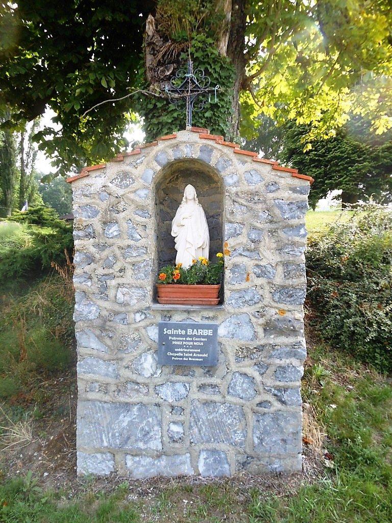 Chapelle Ste Barbe. Rue Maxime Ansieau X Rue Laurent Niogret